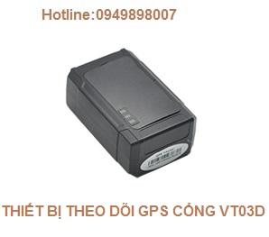 THIẾT BỊ THEO DÕI GPS CỔNG VT03D