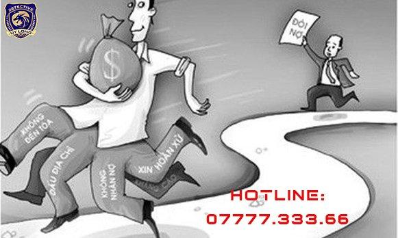 Dịch vụ tìm con nợ, người trốn nợ, đối tượng lừa đảo